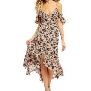 Jessica Simpson yasmin floral ruffle dress